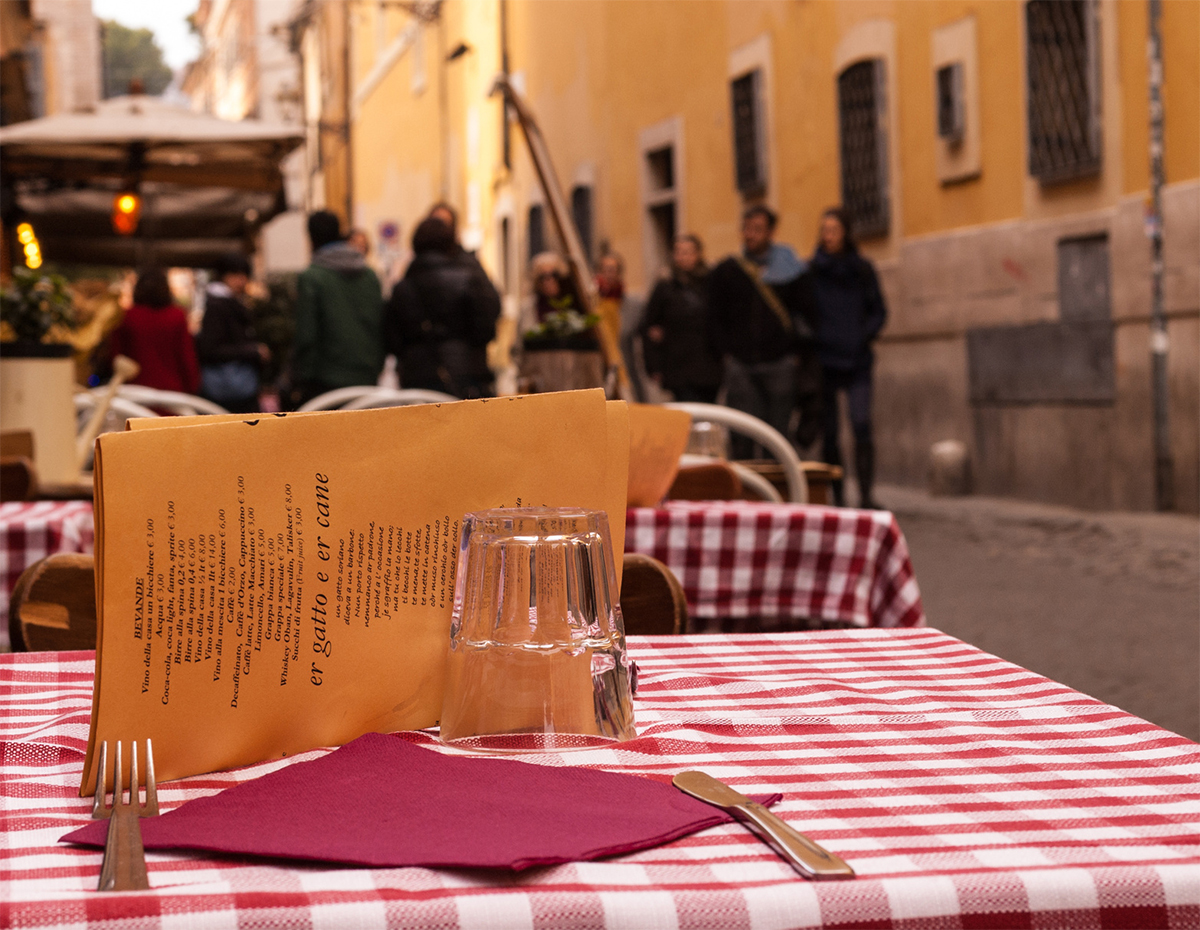 Trastevere in Rome: restourants and nightlife