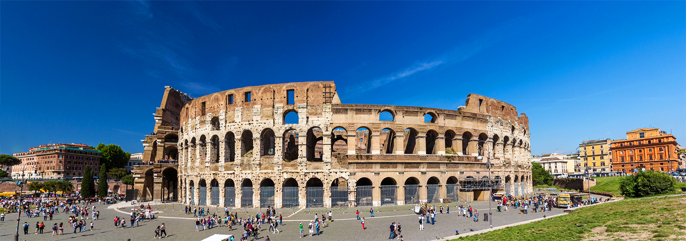 The Colosseum is one of the main points of interest for pilgrims arriving to Rome for the Jubilee of Mercy