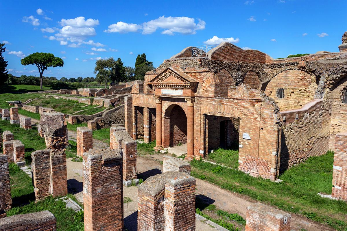 Древняя Остия (Ostia Antica), регион Лацио, окрестности Рима, Италия