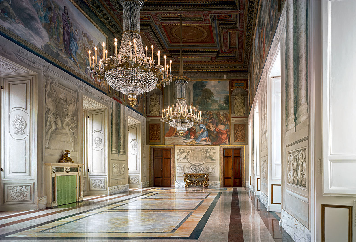 The Yellow Room of the Quirinal Palace