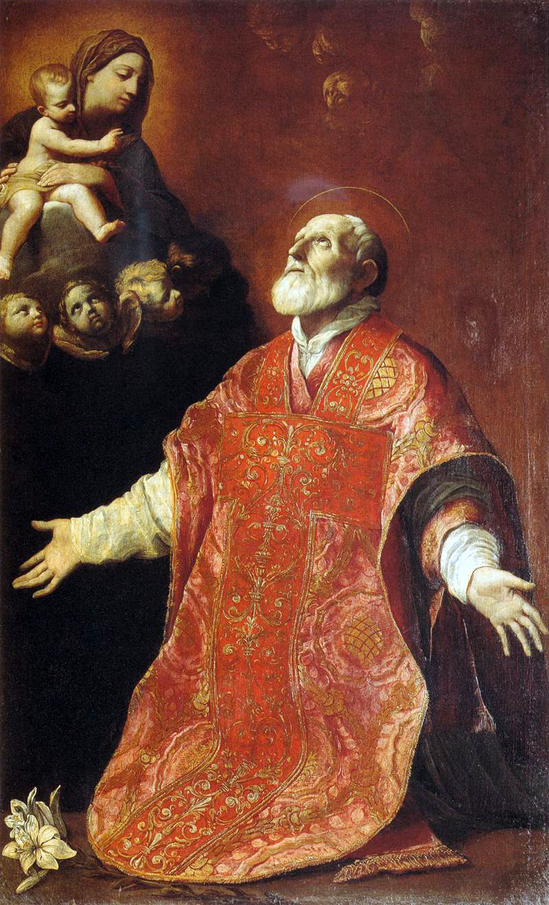 Portrait of St. Philip Neri