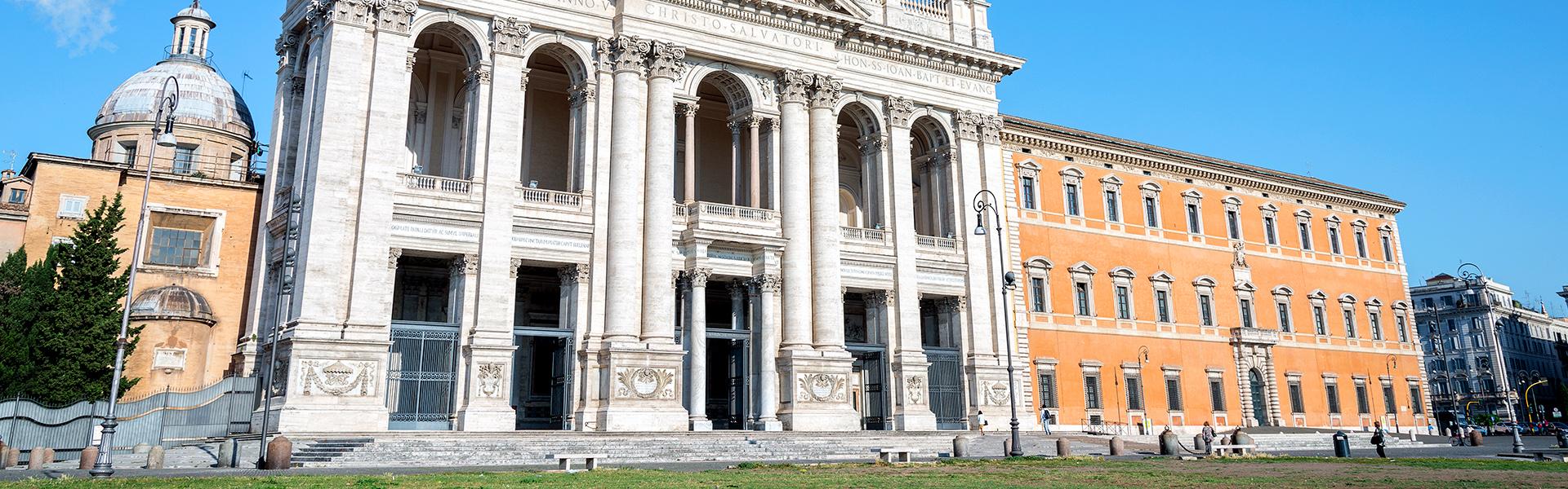 The Basilica of Saint John in the Lateran is the departure point for the Pilgrim's Way