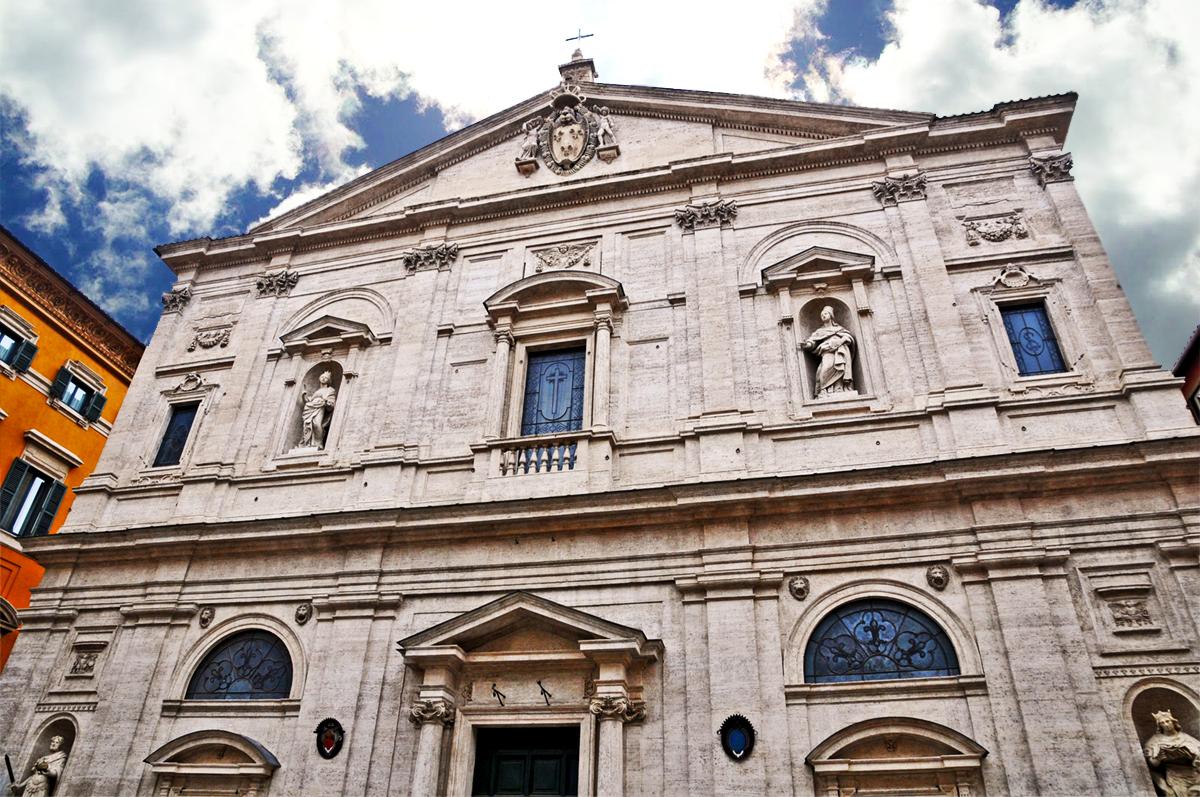 Roma La Chiesa Di San Carlo Alle Quattro Fontane Pictures To Pin On ...