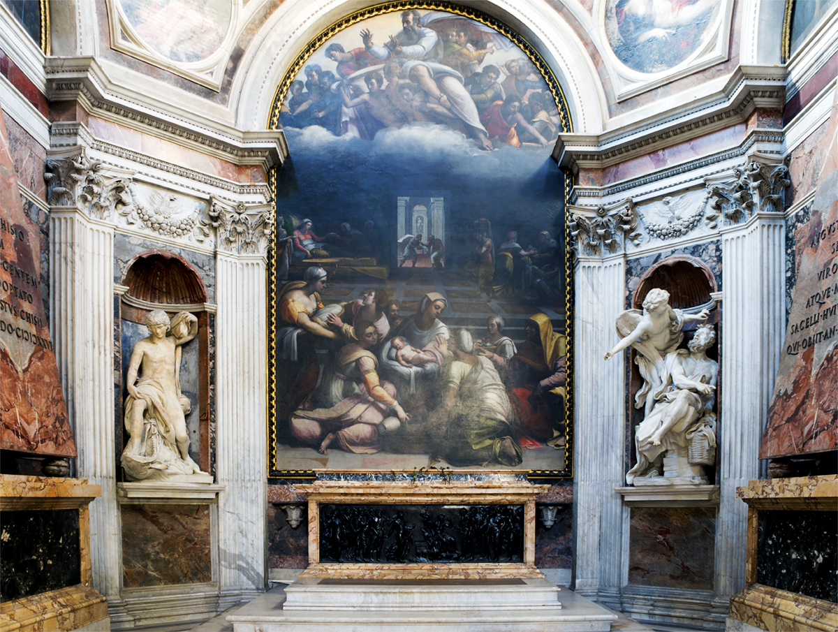 Chigi Chapel and Raphael