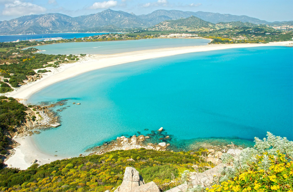 Matrimonio Spiaggia Villasimius : Vacanze in sardegna le spiagge più belle di cagliari e