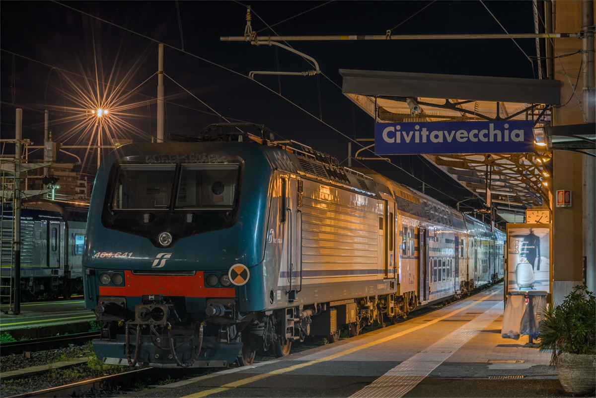 Civitavecchia Train Station - Picture by Marco Quartieri