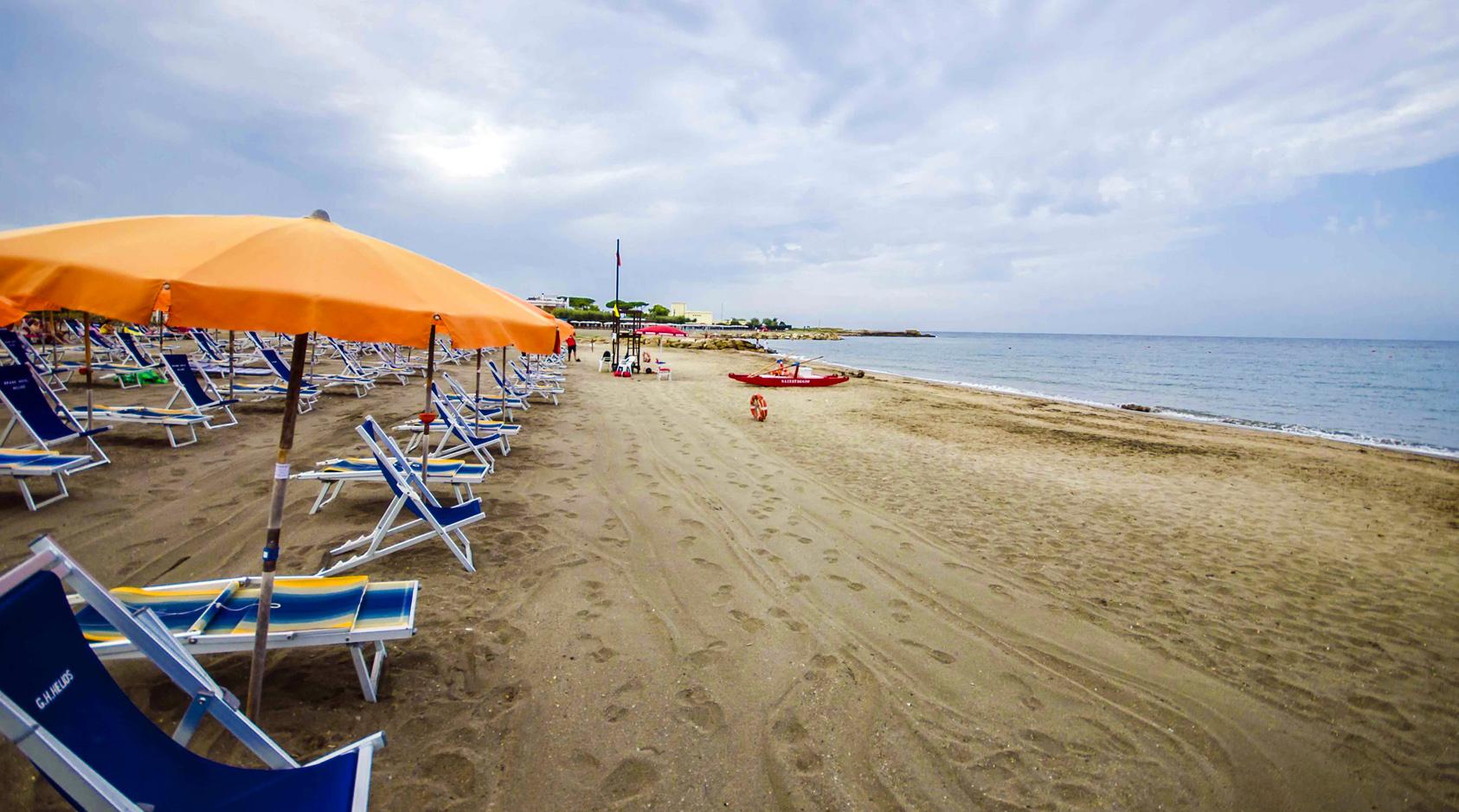 Tarquinia - Spiaggia di Porto Clementino