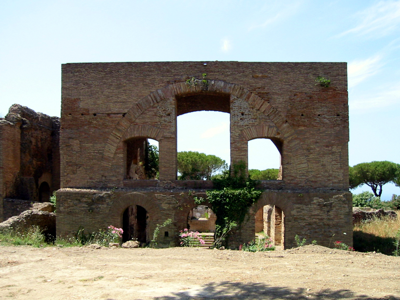 Taurine Baths of Civitavecchia - Calidarium
