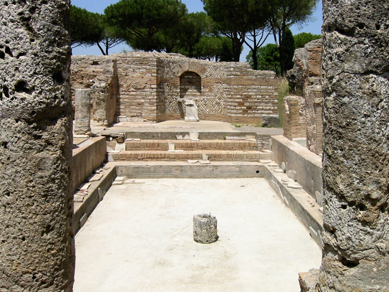 Taurine Baths of Civitavecchia - Tepidarium