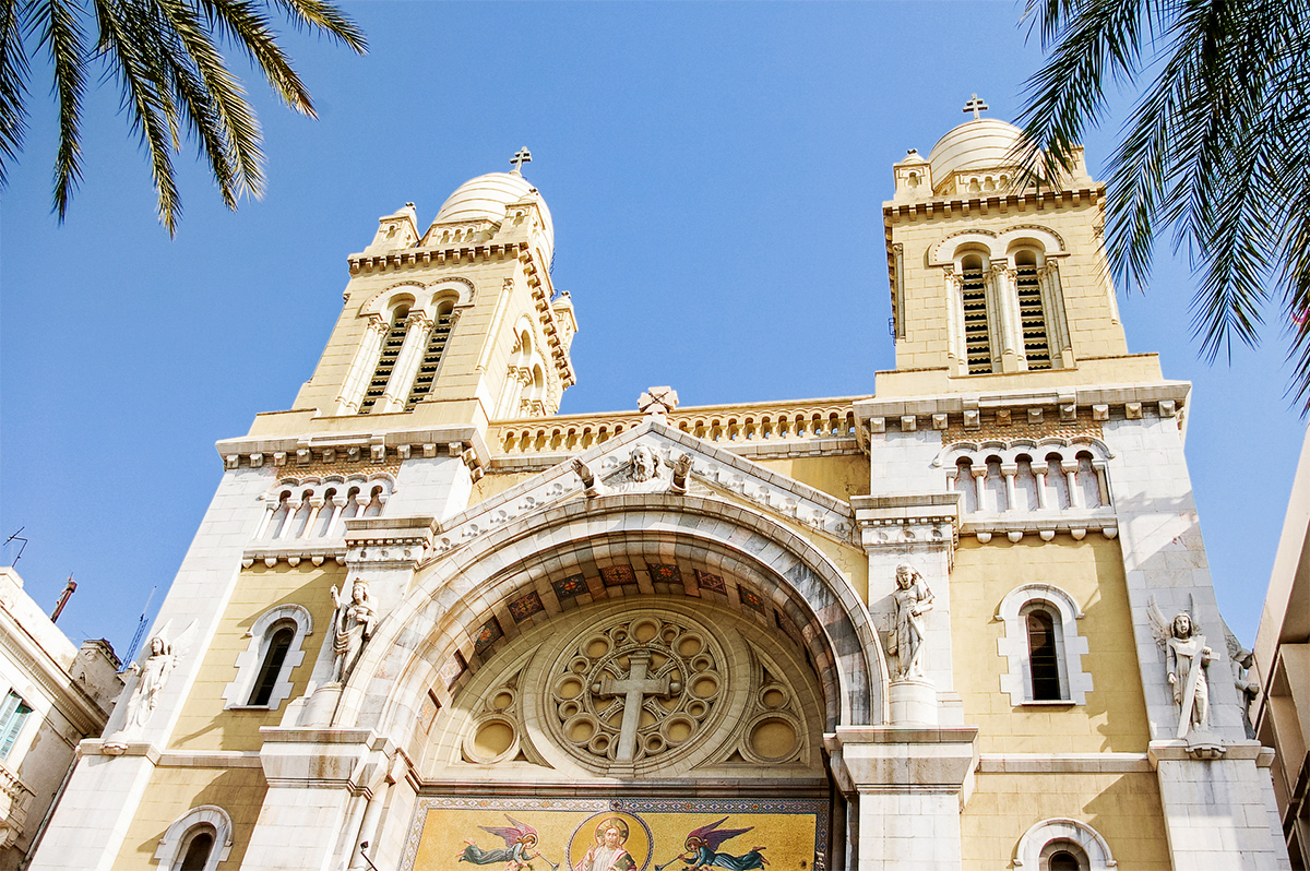 Tunis - Cathedral of St. Vincent de Paul
