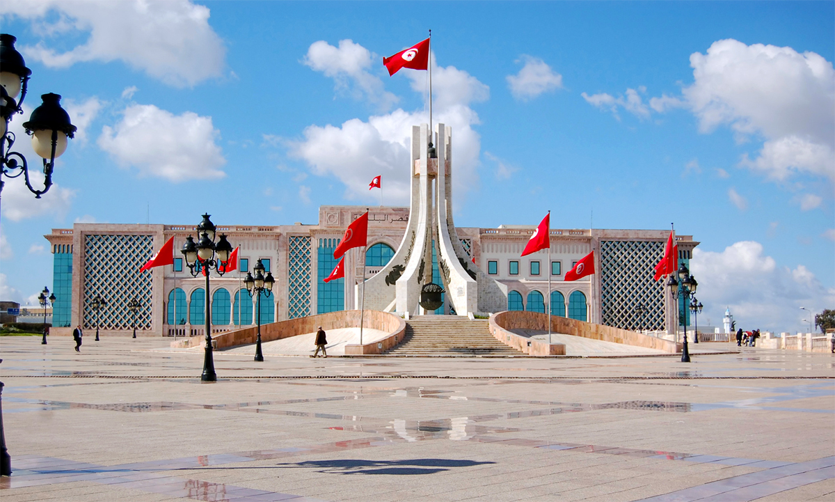 Tunis - Kashba Square