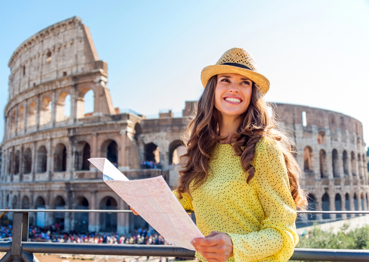 Visit the Colosseum of Rome