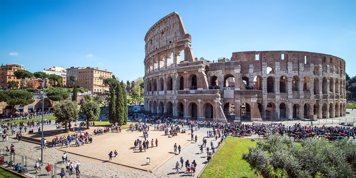 The Colosseum of Rome: an icon of Italy in the world