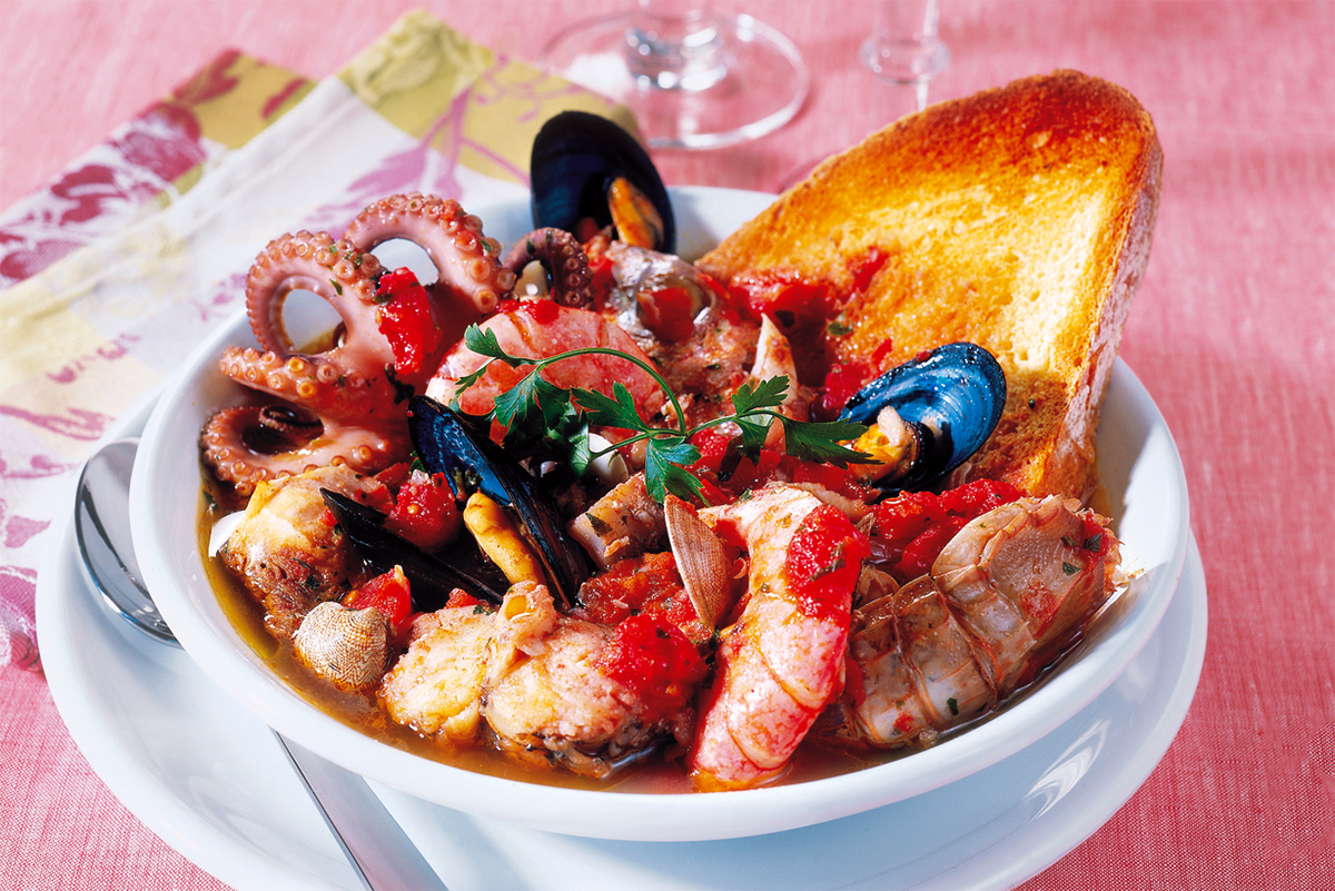 Civitavecchia Fish Soup